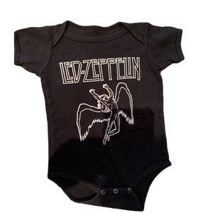 Led Zeppelin onesie